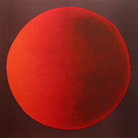 Red Planet - Lithograph by Maria Hillfon.