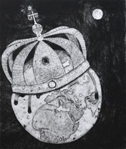 Torrnål Skapelsens krona av Eva Holmér Edling.