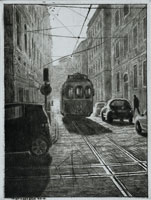Torrnål Lissabon av Mikael Kihlman.