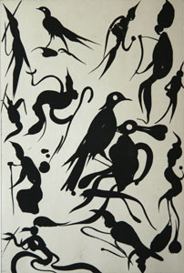 Sockerakvatintetsning Birdlovers av Dan Wirén.