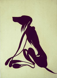 The Dog - Aquatint Etching by Dan Wirén.