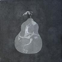 Original Monterad tuschmålning - Kalebass II av Dan Wirén.