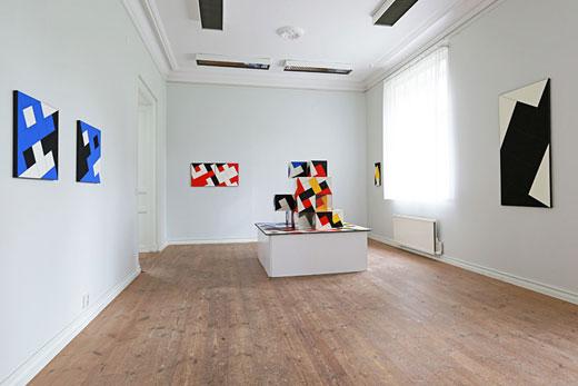Cajsa Holmstrands utställning på Galleri Astley.
