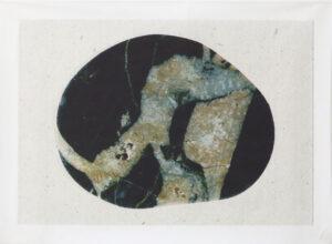 """""""Ur djupet av en sten"""", 2004, artwork by Curt Asker."""