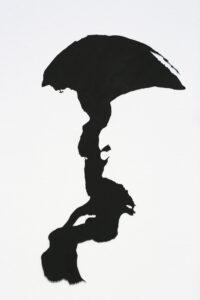 """Utpost"", 1995, artwork by Curt Asker."