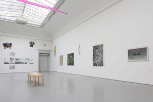 Artworks by Curt Asker at The Academy of Fine Art, 2019, Stockholm, Sweden