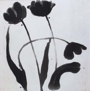 Etsning Black Tulip Session 1 av Pontus Raud.