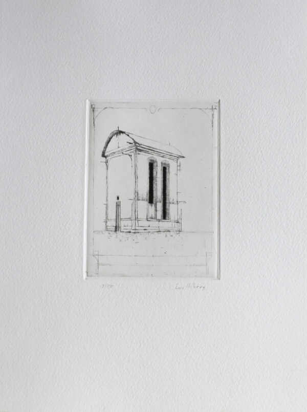 Transformer - Drypoint by Lars Nyberg.