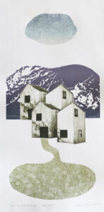 The Way Home 2 - Photogravure/Serigraph by Catharina Warme Hellström