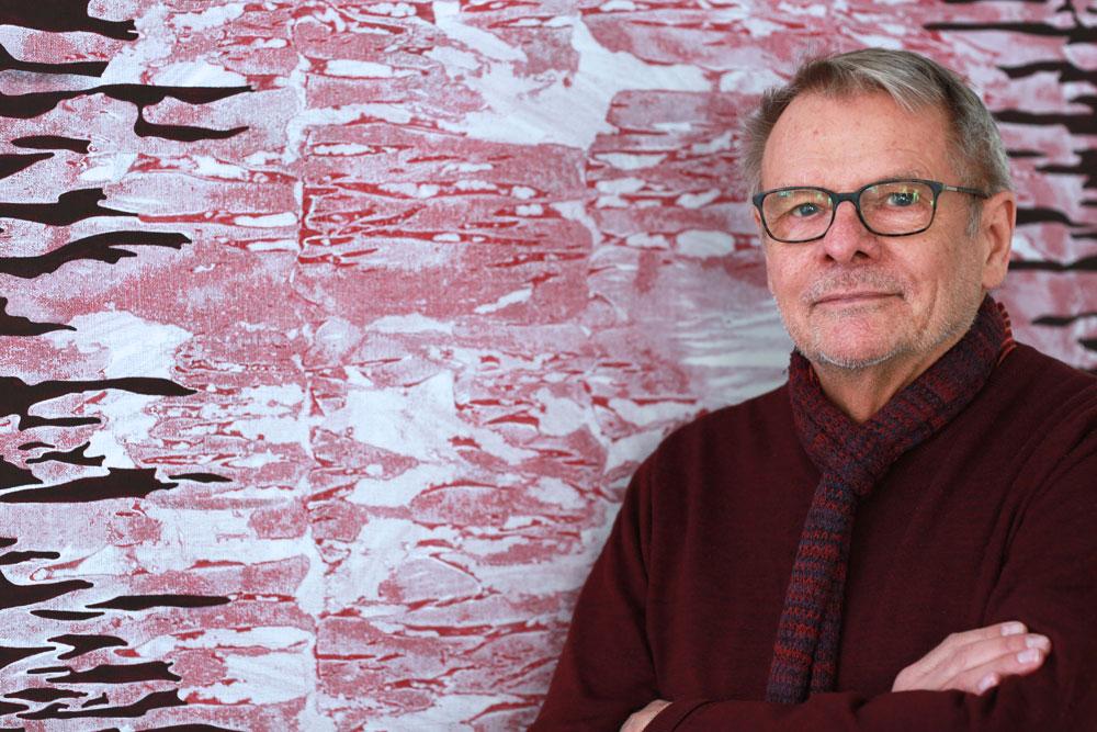 Kjell Anderson at Olsson Gallery 2019.