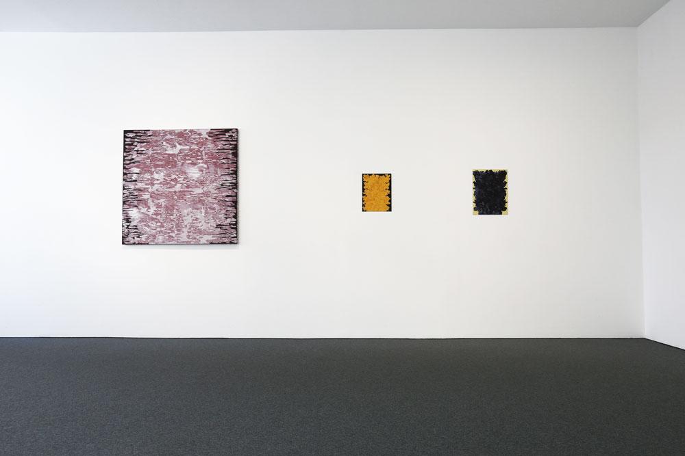 Vägg vänster - Kjell Andersons utställning på Galleri Gunnar Olsson 2019.