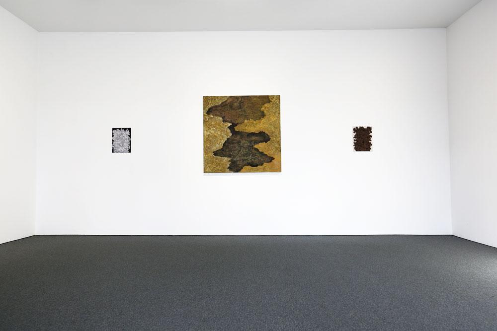 Vägg mitten - Kjell Andersons utställning på Galleri Gunnar Olsson 2019.