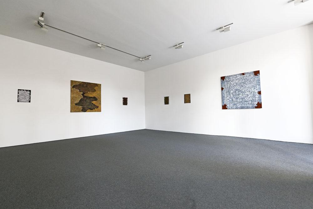 Överblick höger - Kjell Andersons utställning på Galleri Gunnar Olsson 2019.