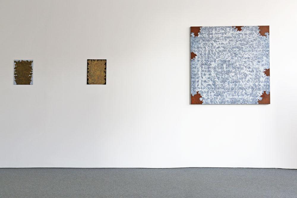 Vägg höger - Kjell Andersons utställning på Galleri Gunnar Olsson 2019.