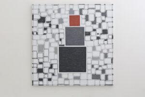 Kjell Strandqvists målning 31 i akryl.