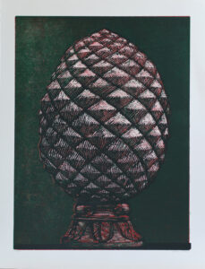 Cone - Woodcut by Peter Ern.
