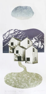 The Way Home 2 - Photogravure/Serigraph by Catharina Warme Hellström.