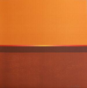 Litografi Orange av Maria Hillfon.