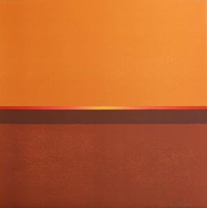 Orange - Lithograph by Maria Hillfon.