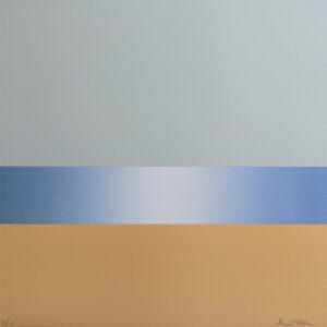 Litografi Stranden av Maria Hillfon.