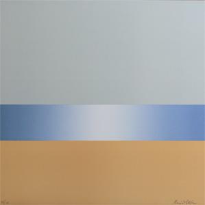 The Beach - Lithograph by Maria Hillfon.