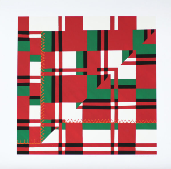 Stitched Edge - Giclée by Ann Makander.
