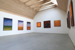 Maria Hillfons utställningsrum 1, byggt 201X - vy vänster