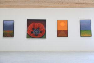 Maria Hillfons målningar