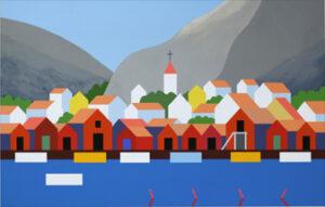 At the Coast - Giclée by KG Nilson.
