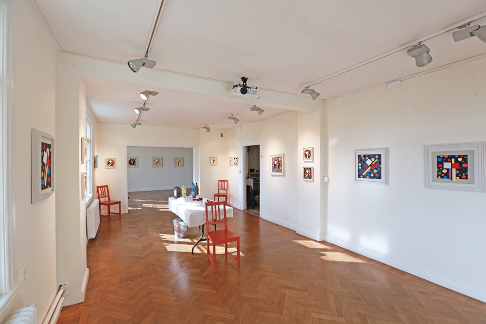 Everything prepared for the opening on October 2 at Sigtuna Kulturgård.